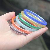 女款 琉璃手圈 供应仿玉玻璃玉手镯 7mm玻璃手镯 细款 特价