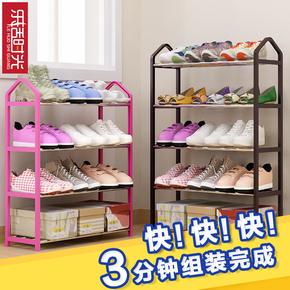 鞋架简易鞋柜简约现代门厅柜多功能鞋架子家用门口组装多层收纳柜