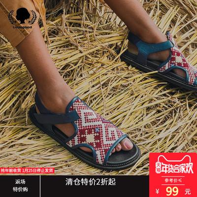 【特价不退不换】复古波西米亚凉鞋女夏平底学生简约百搭软妹凉