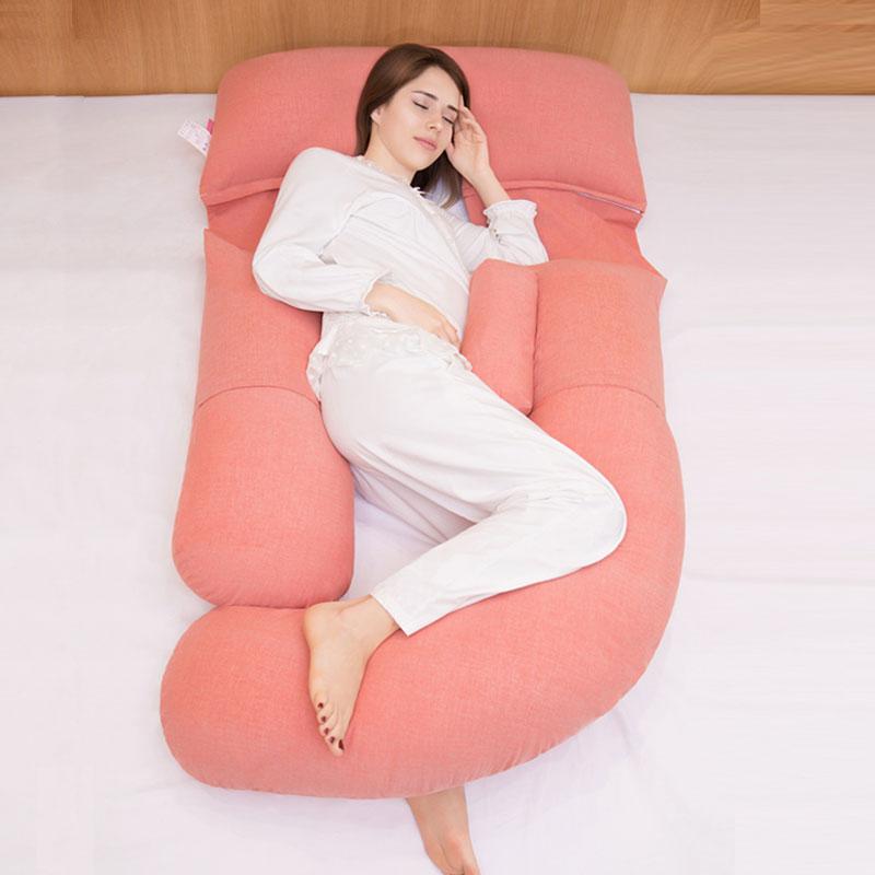 孕妇枕头护腰侧睡枕侧卧靠枕睡垫孕期u型睡枕托腹g睡觉神器床抱枕