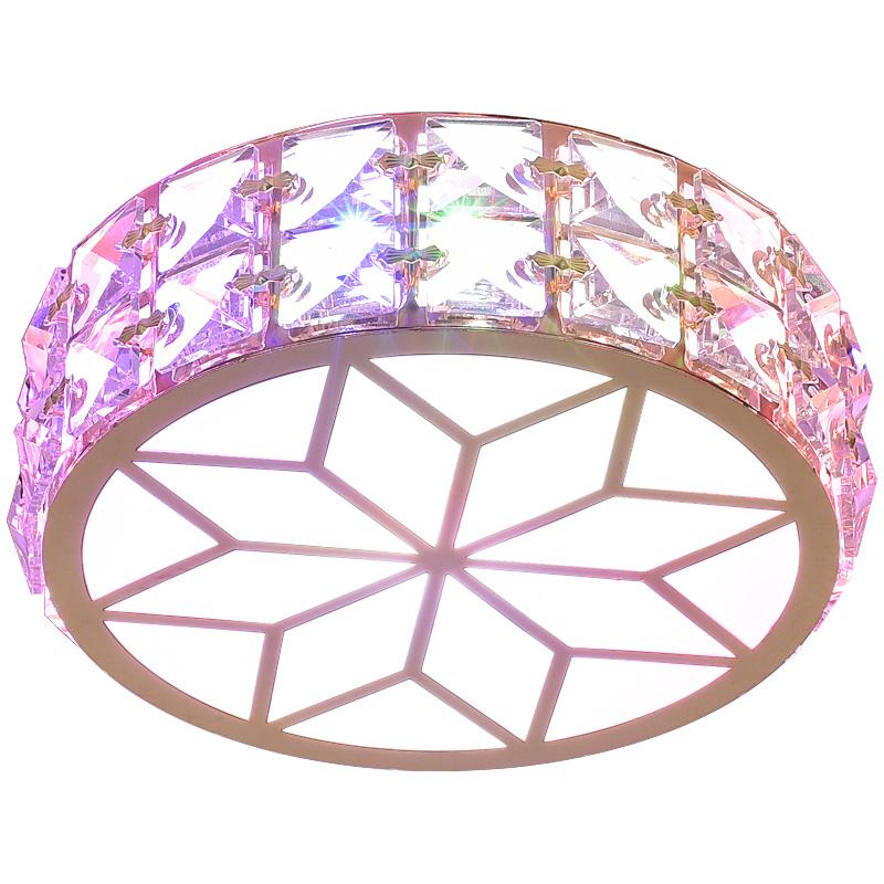 led过道灯走廊灯玄关灯客厅水晶射灯现代简约门厅灯吸顶走道灯具