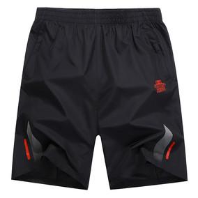 运动短裤男宽松速干短裤大码五分裤健身跑步夏季薄款透气夏天中裤