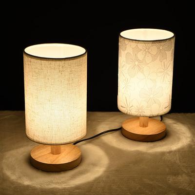 台灯创意实木