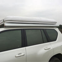 Aluminum alloy shell car side tent off-road vehicle RV outdoor camping side roof roof awning awning camping canopy