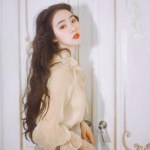 图片:麓津自制《白月光》夏季新品显瘦复古少女感百搭罩衫吊带两件套