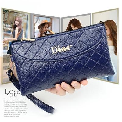 2018新款日韩女包时尚手拿包百搭简约手机包休闲女小包长款女钱包