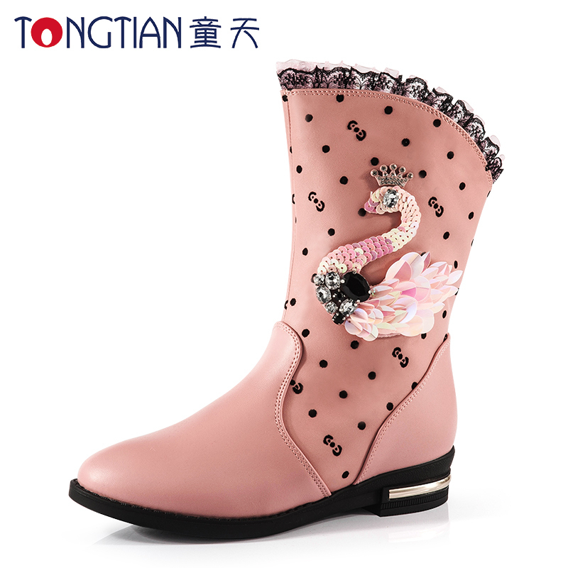 冬季女靴大童