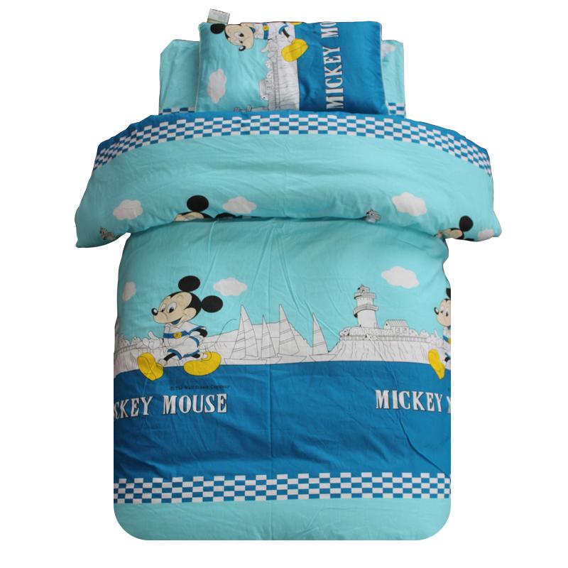 幼儿园纯棉被子垫套三件套夏季床被 全棉被褥幼儿童宝宝床品包邮
