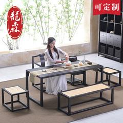实木中式茶桌