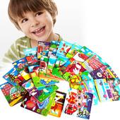 20片卡通动漫木制木质儿童拼图版小孩宝宝早教益智力2-3-4-岁玩具