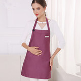 Computer induction cooker protective clothing pregnant women wear radiation-proof clothing women belly pocket apron office workers pregnant work clothes