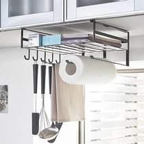 不銹鋼廚房掛桿掛鉤廚房置物架墻壁掛件五金廚房掛架收納架304