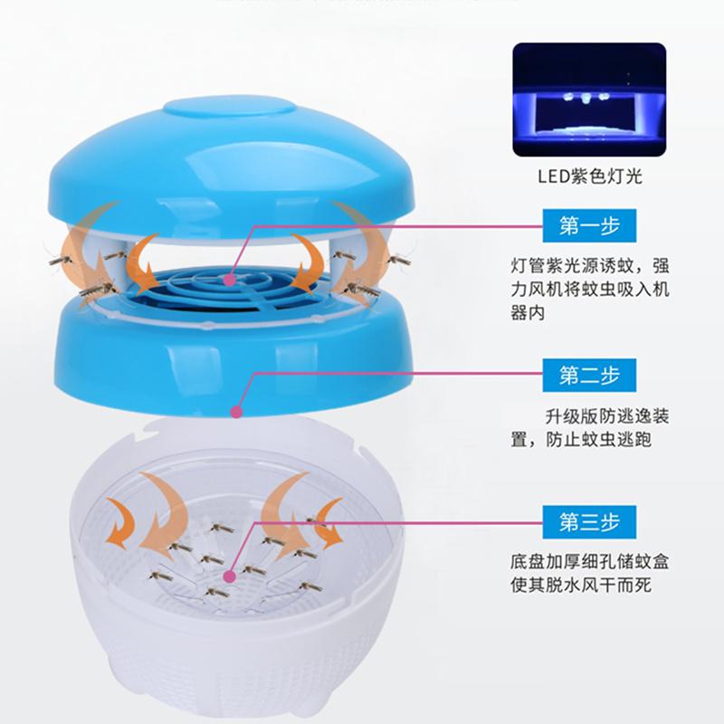 灭蚊灯家用室内婴儿孕妇插电吸入式驱蚊器防蚊灭蚊卧室静音捕蚊子