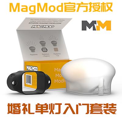 原装MagMod婚礼人像单灯入门套装底座柔光球柔光罩送色片现货顺丰