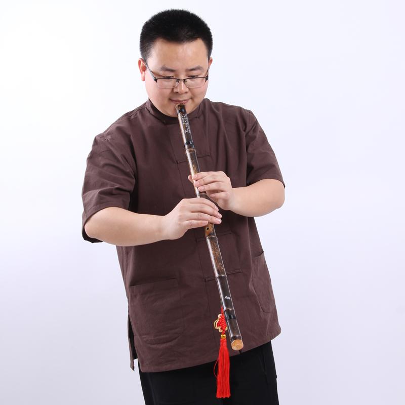 乐器初学入门演奏一节紫竹豪华配件浙江省见描述箫