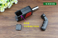Outdoor gun type electric blower automatic hair dryer point carbon tool barbecue combustion burner outdoor barbecue supplies