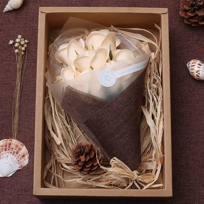 香皂玫瑰花创意走心的七夕情人节女生日礼物送女友朋友情侣少女心
