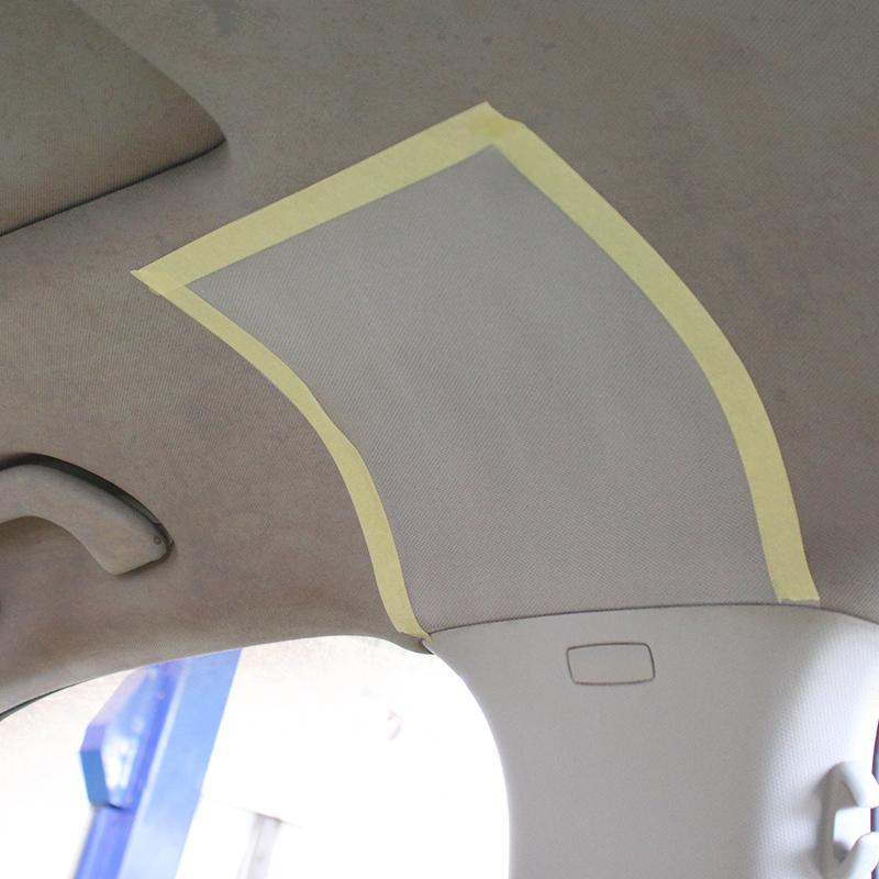 汽车内饰顶棚清洗剂车顶绒面绒布织物车内皮革强力去污内饰清洁剂