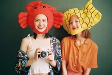 Japanese inshihara, Rimei, the same type of crab head, fishhead, photographic props, artifacts, rice balls selling sprouting male and female tide