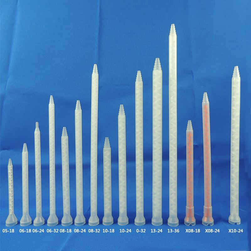 MC静态混合管静态胶管AB胶混合胶管 点胶设备配件AB胶水胶管
