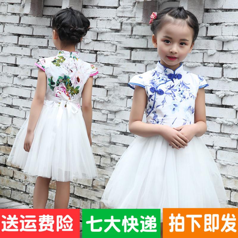 童旗袍童礼服