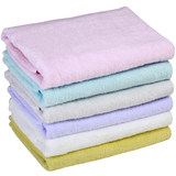 Japanese inland marshmallow crepe-free baby child bath towel adult cotton soft absorbent big towel