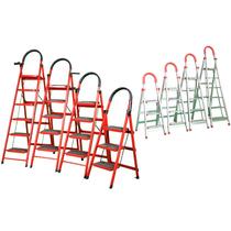 步包邮8步7步6步5步4步步高梯子加厚不锈钢人字梯家用折叠阁楼梯