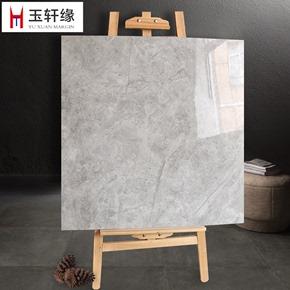 灰色大理石瓷砖800x800客厅地砖 全抛釉 超晶石背景墙砖 防滑地砖