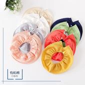 包邮 宝宝婴幼儿新生儿360度圆形围嘴防吐奶纯棉小围嘴口水巾 三件