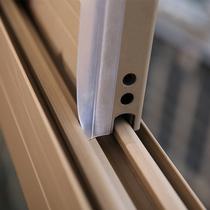 Portes et fenêtres bande de scellement porte inférieure insonorisée par le vent autocollants disolation phonique ouverture de la fenêtre porte en verre chaud ruban de silicone auto-adhésif