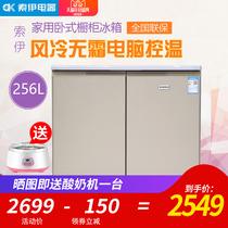 流光金风冷无霜升对开双门冰箱家用节能515515WEFA1BCDTCL