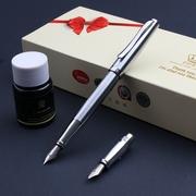 德国公爵DUKE弯笔尖美工钢笔+钢笔头两用笔 艺术签名笔 免费刻字