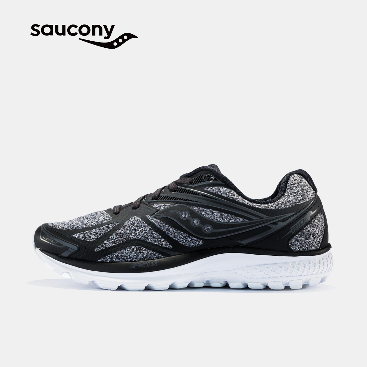 Saucony圣康尼 RIDE 9 LR 中性缓震跑鞋运动鞋男子跑步鞋 S20364