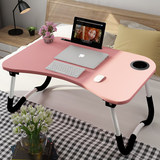 Laptop table bed with foldable lazy table student dormitory study desk small table Xinjiang