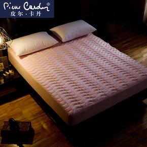皮尔卡丹床笠单件 加厚床罩席梦思床垫保护套1.5m床 1.8单双人
