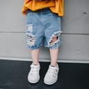 男宝宝牛仔棉裤
