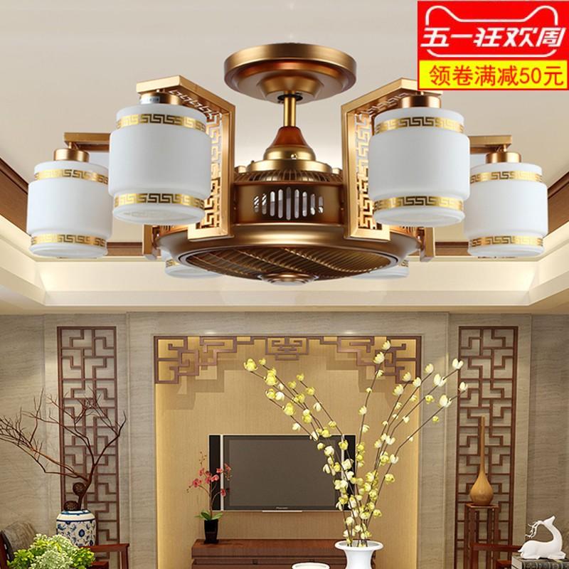 吊扇燈中式古典
