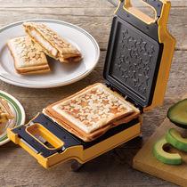 日食记recolte丽克特日本家用早餐机三明治机吐司机