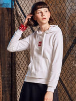 361 degrees women's official sports sweater summer new sportswear 361 sets of hooded casual sweater men Y