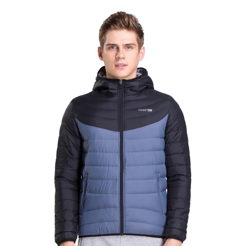361度官方男装羽绒服 冬季新款运动服 361运动短款加厚保暖外套男