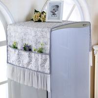 蕾丝冰箱布