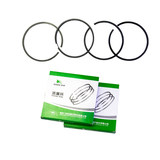 Diesel engine parts Laiwu KM173 piston ring four ring double Luo piston ring 173