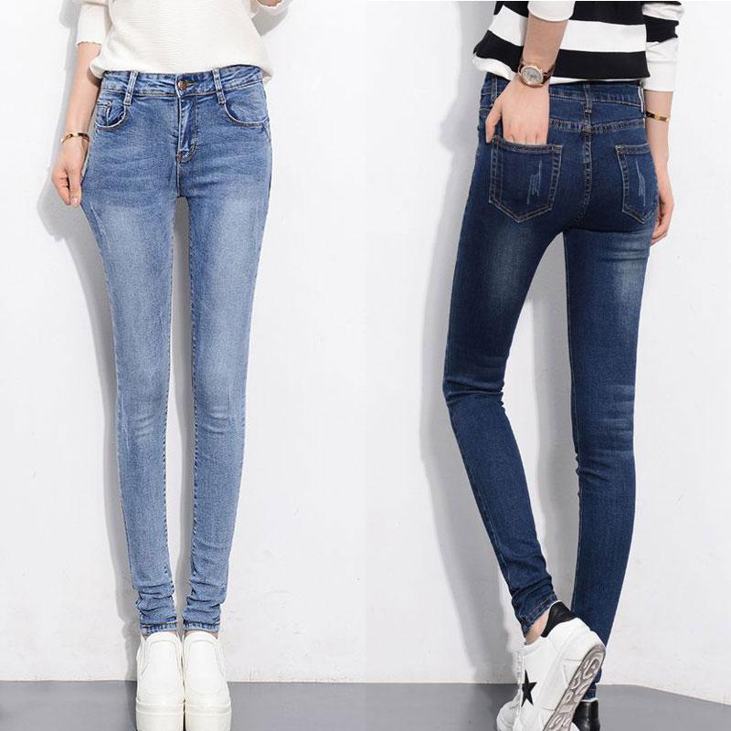 瘦提臀瘦腿铅笔裤
