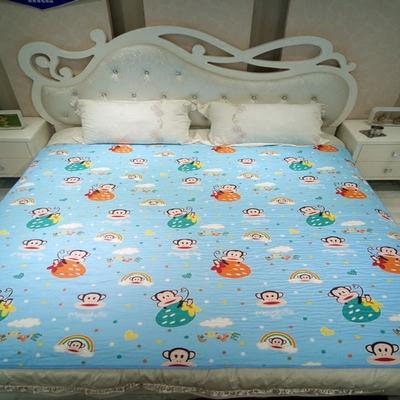 超大隔尿垫巾床单儿童老人成人纯棉防水透气可洗1.8尿不湿床垫2米