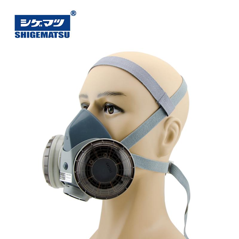 重松制作所DR28SU2K防尘面具电焊面罩工业粉尘沙尘煤矿防护面罩
