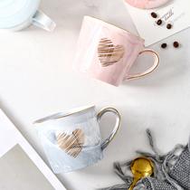 创意马克杯个性杯子陶瓷ins北欧水杯办公室家用牛奶水杯情侣对杯