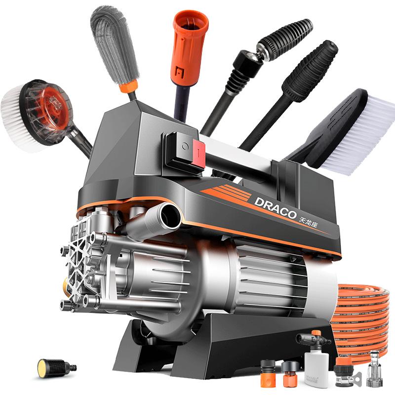 亿力小型高压洗车机神器家用220v自助刷车水泵抢便携式清洗机水枪