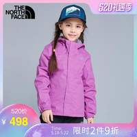TheNorthFace North Children's Wear 2019 New Spring and Summer Girls Children's Jackets Outdoor Waterproof 3NHS