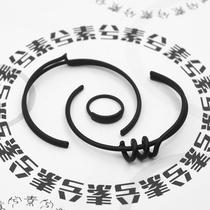 YJ00709银饰手镯满刻经文