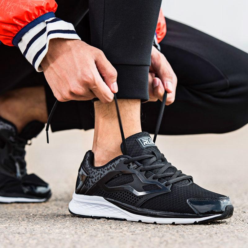 361男鞋运动鞋跑步鞋361°秋季新款网面透气休闲鞋男士旅游鞋跑鞋